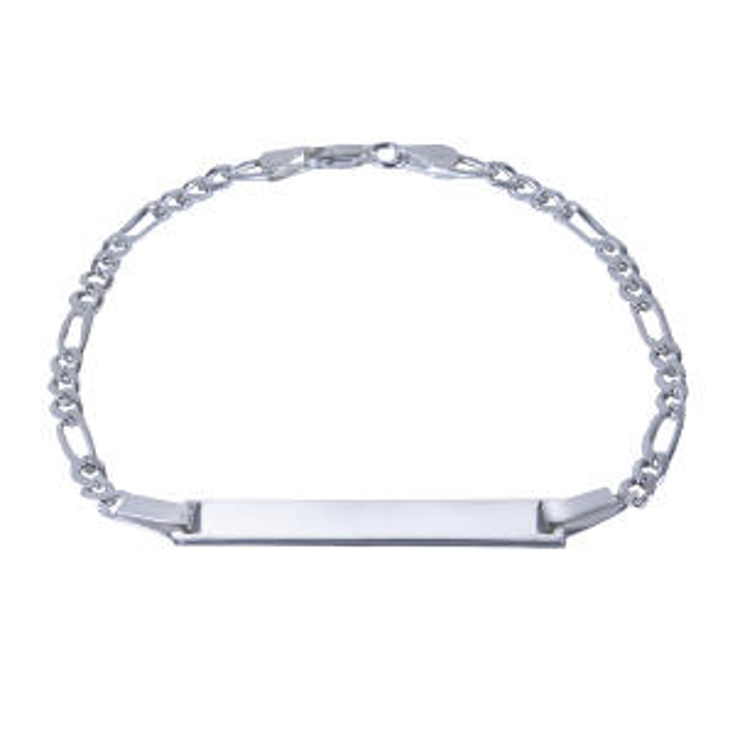 دستبند نقره بازرگانی میلادی کد DP_007