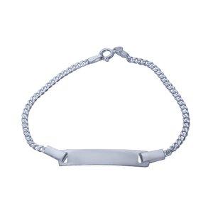 دستبند نقره بازرگانی میلادی کد DP_008