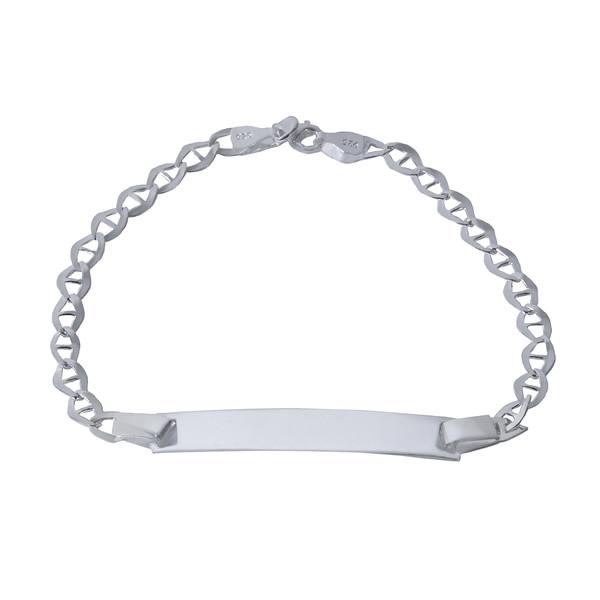 دستبند نقره بازرگانی میلادی کد DP_009