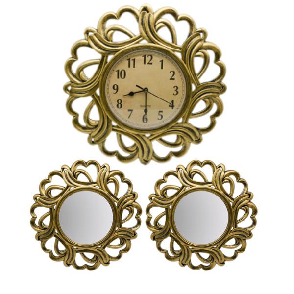 ساعت دیواری کد 4183 به همراه آینه