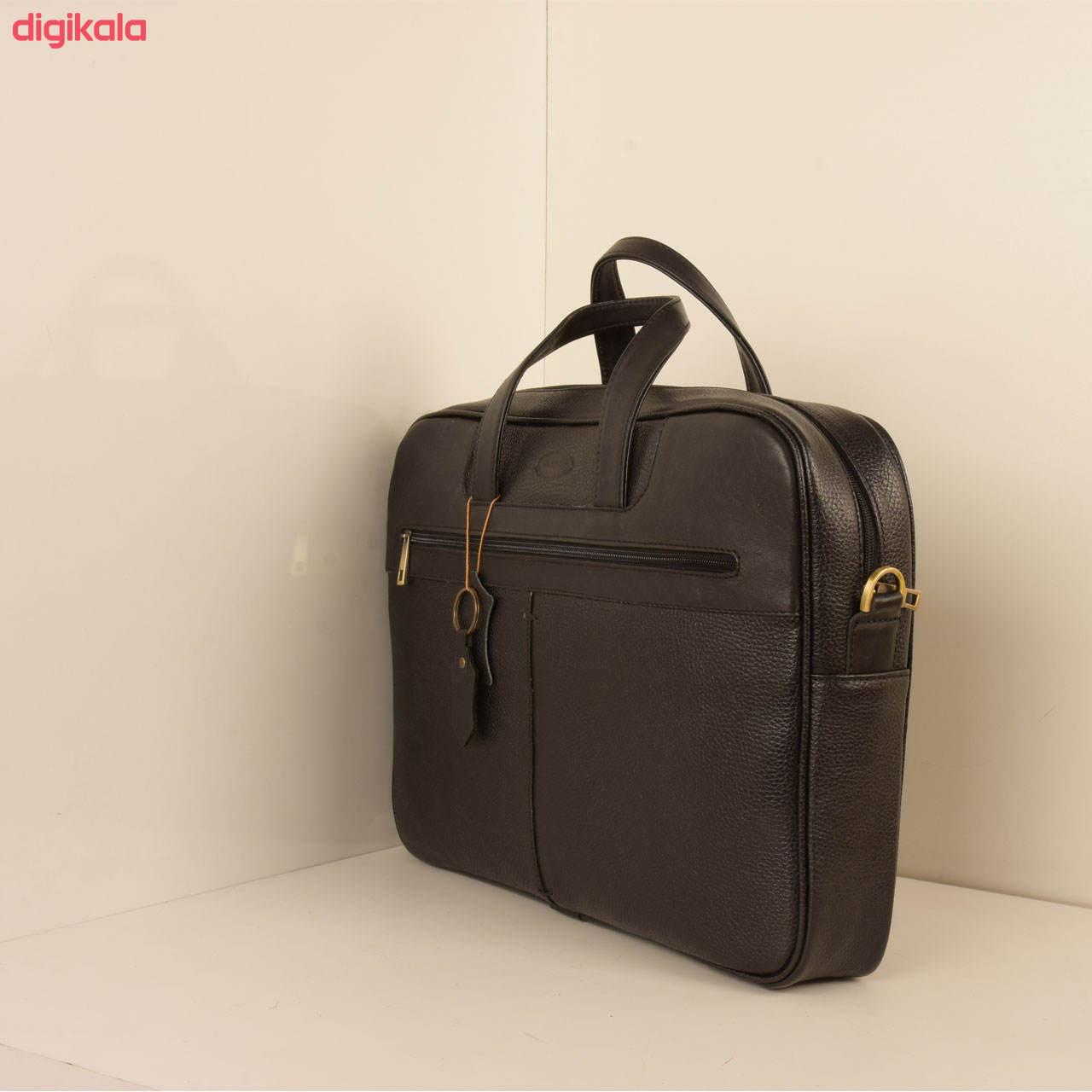 کیف اداری مردانه پارینه چرم مدل L159 main 1 1