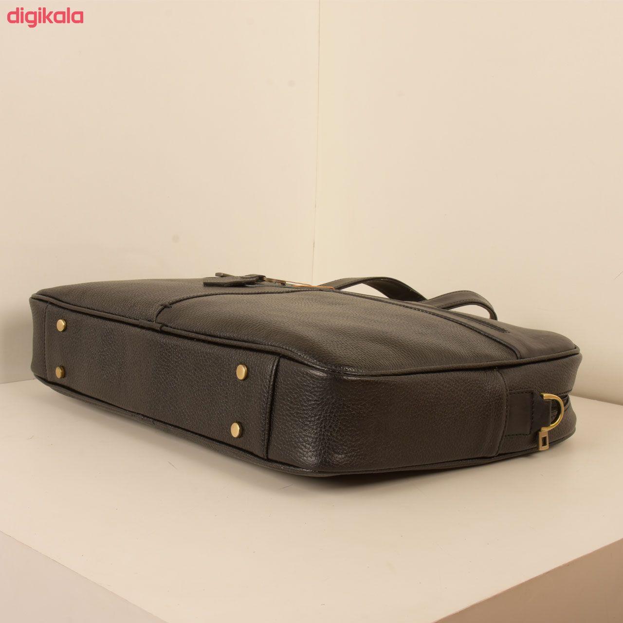 کیف اداری مردانه پارینه چرم مدل L159 main 1 2