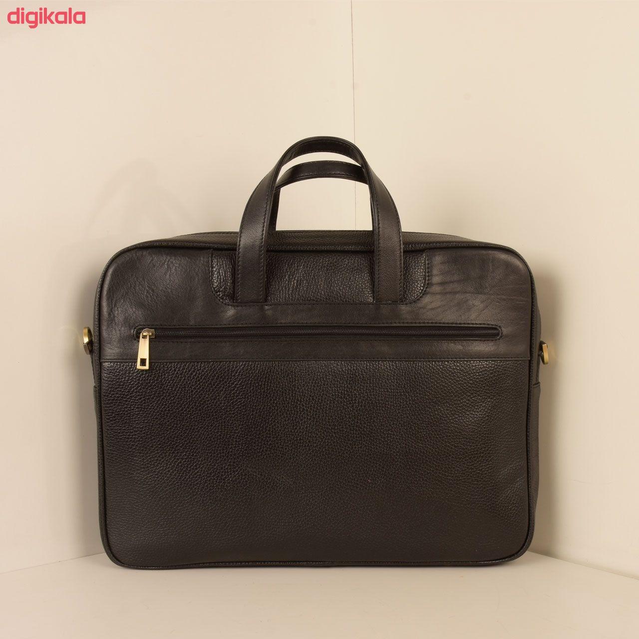کیف اداری مردانه پارینه چرم مدل L159 main 1 5