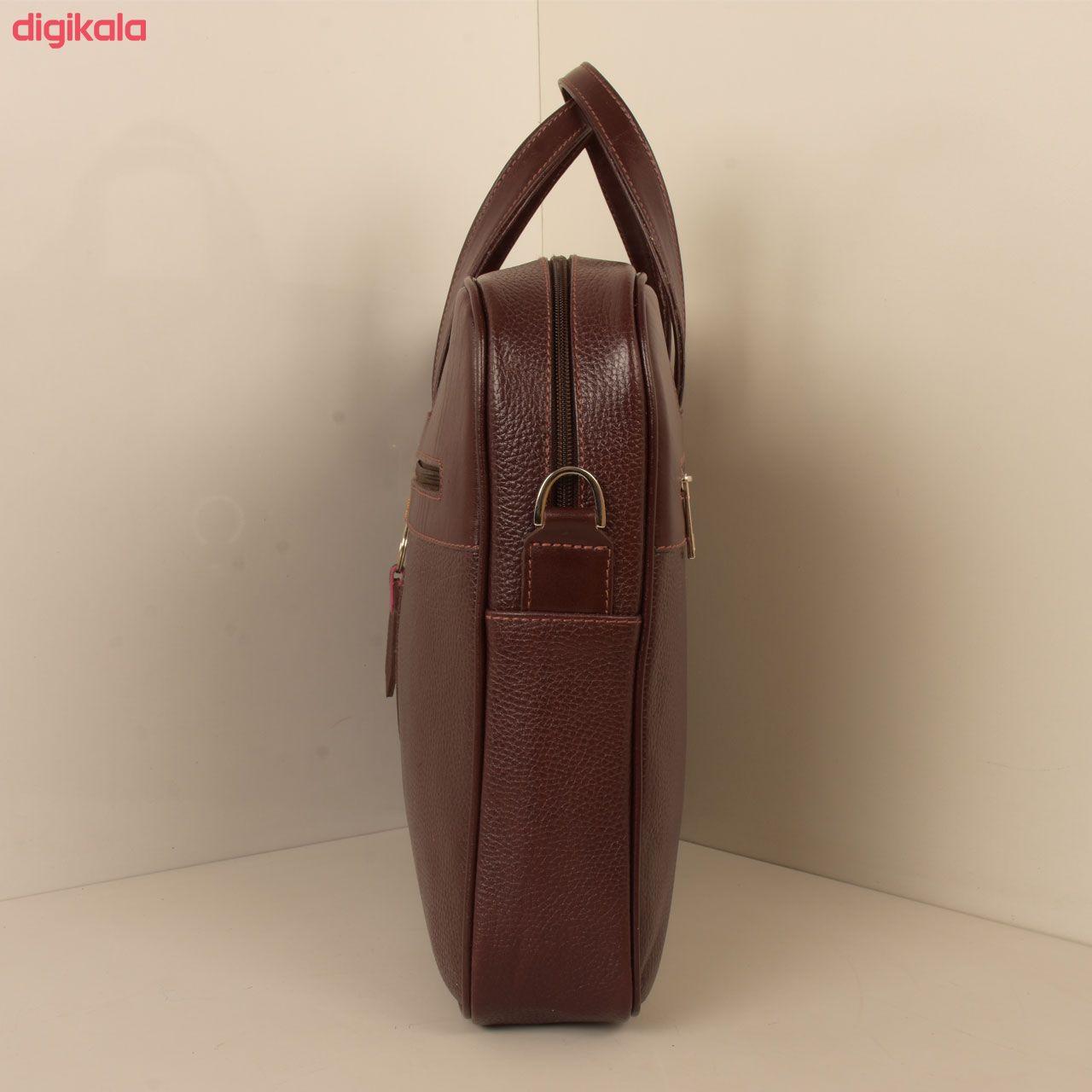 کیف اداری مردانه پارینه چرم مدل L159 main 1 11