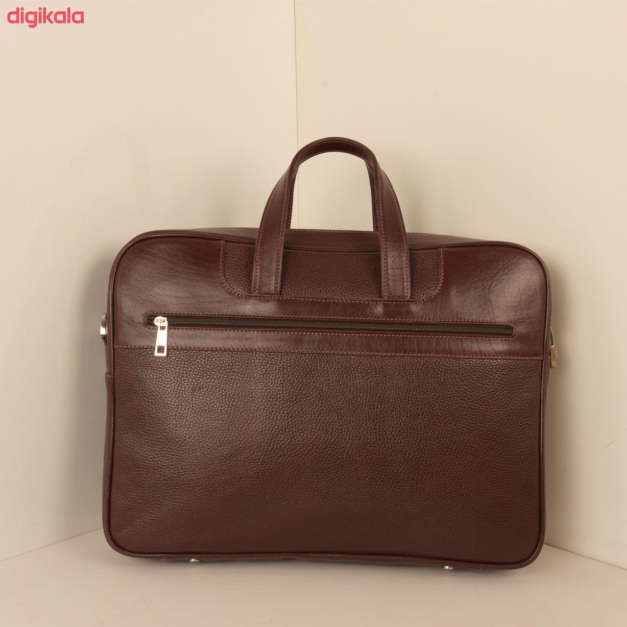 کیف اداری مردانه پارینه چرم مدل L159 main 1 12