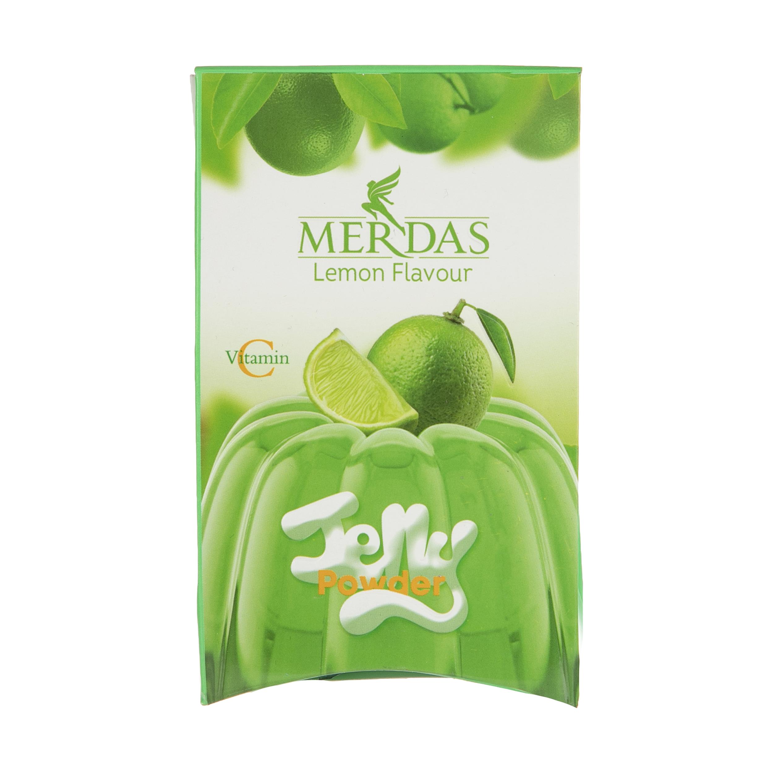 پودر ژله مرداس با طعم لیمو - 100 گرم