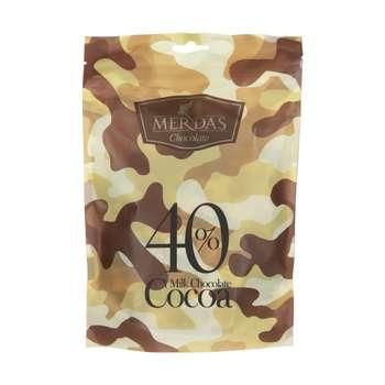 شکلات شیری 40 درصد مرداس - 200 گرم