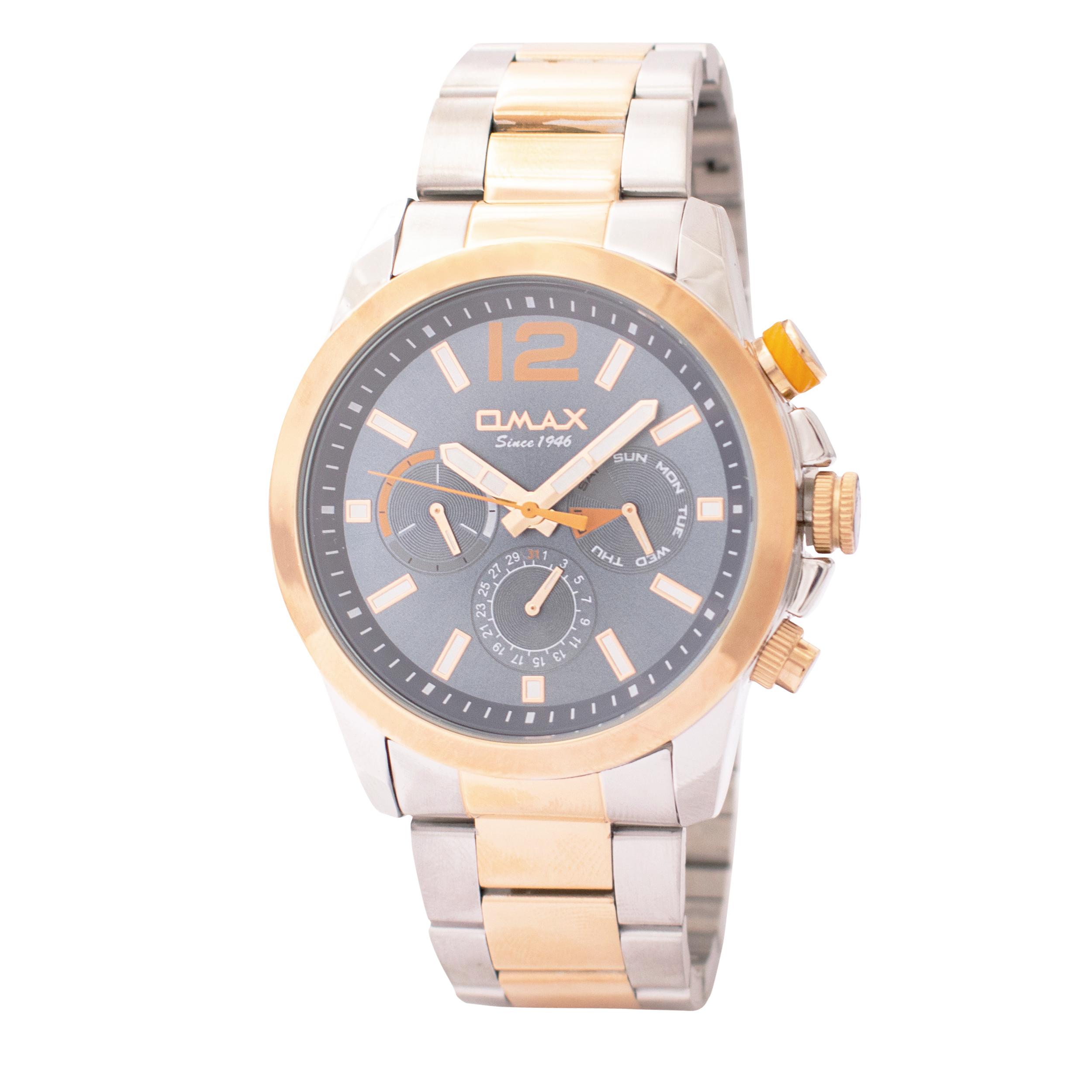 ساعت مچی عقربه ای مردانه اوماکس مدل GX55C4CI