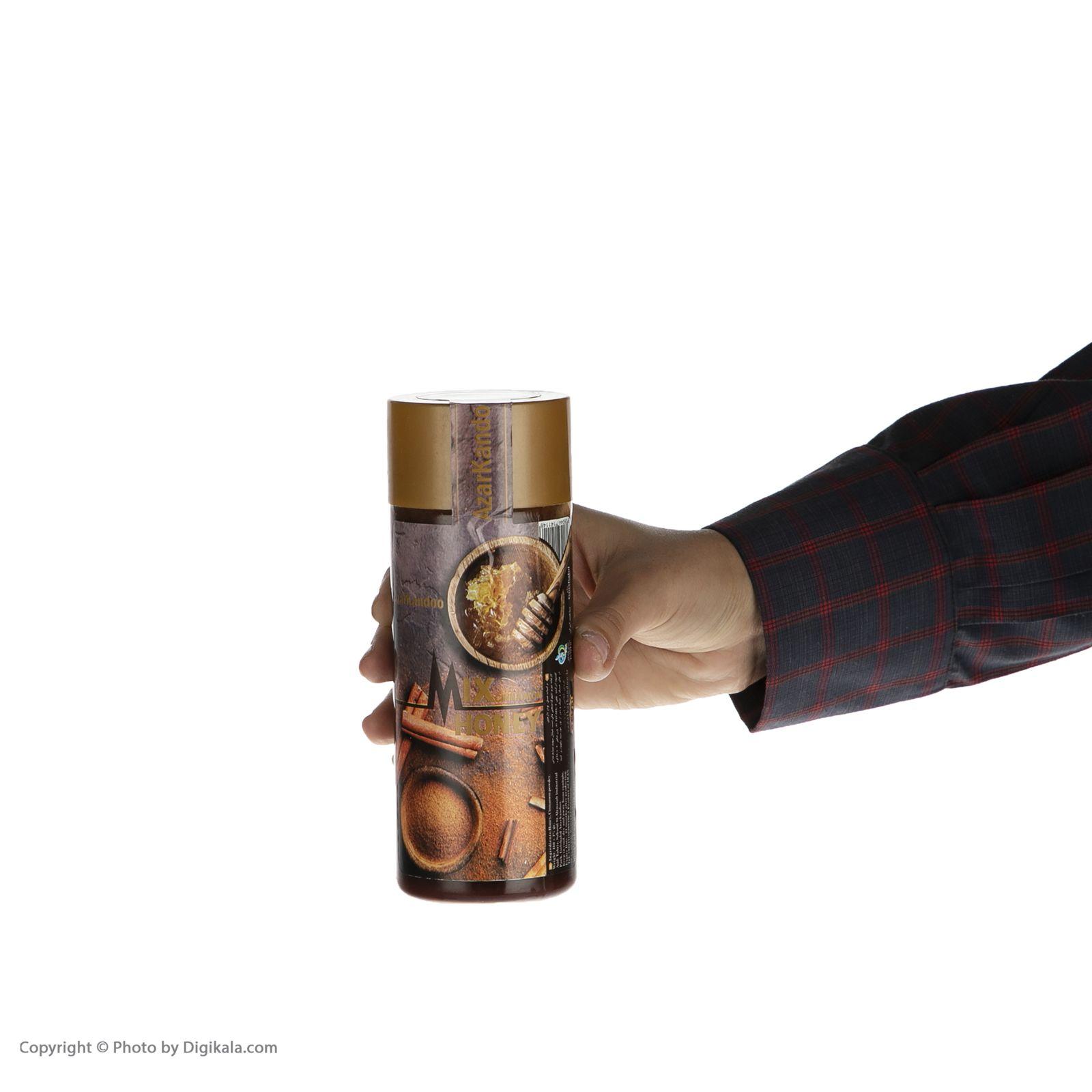 عسل آذرکندو مخلوط با پودر دارچین - 460گرم main 1 2