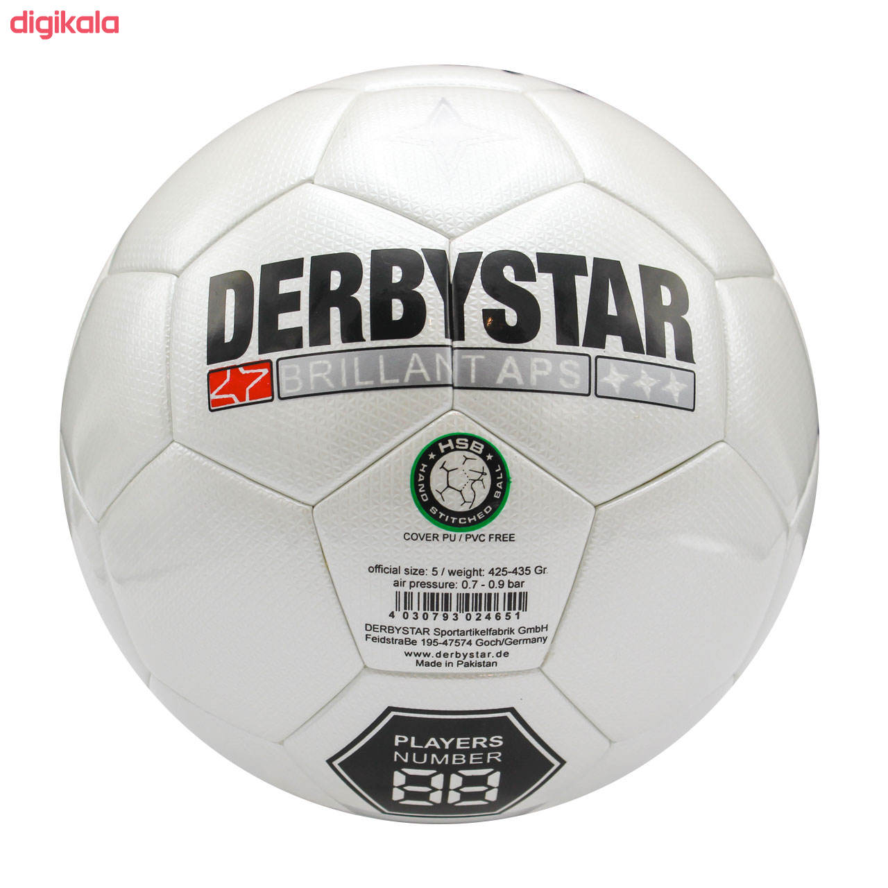 توپ فوتبال دربی استار مدل 237 main 1 1
