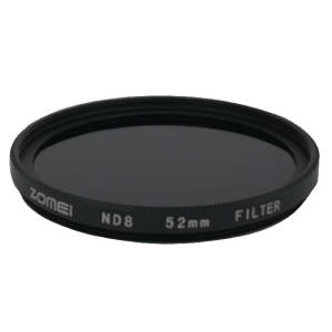 فیلتر لنز زومی مدل ND8 52mm