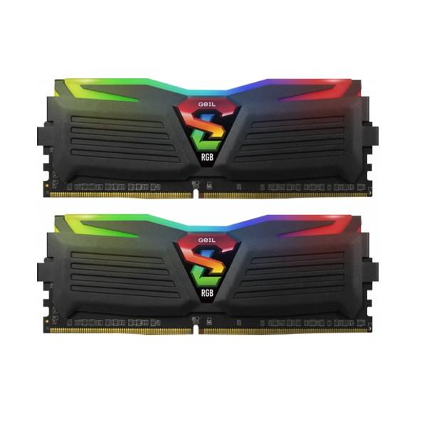 رم دسکتاپ DDR4 دو کاناله 3000 مگاهرتز CL16 گیل مدل SUPER LUCE RGB SYNC ظرفیت 16 گیگابایت
