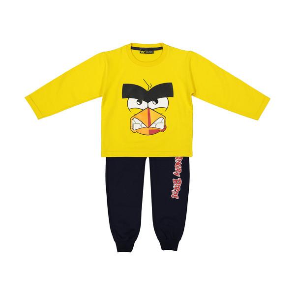 ست تی شرت و شلوار پسرانه خرس کوچولو مدل 2011109-16