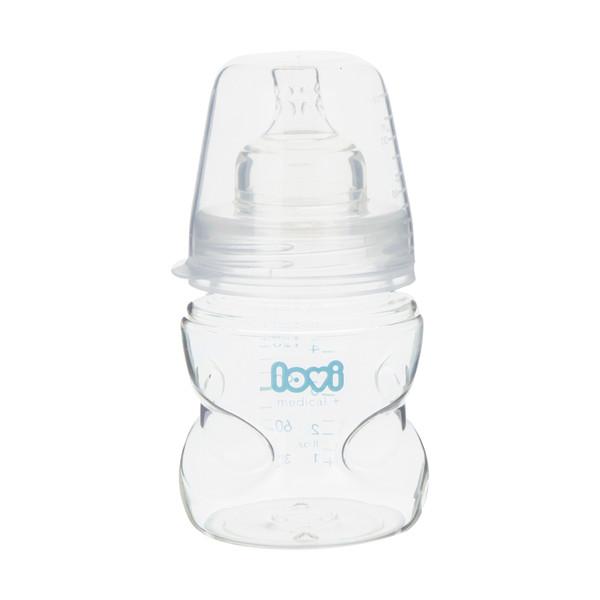 شیشه شیر کودک لاوی کد 04 ظرفیت 150 میلی لیتر