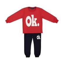 ست تی شرت و شلوار پسرانه خرس کوچولو مدل 2011106-72