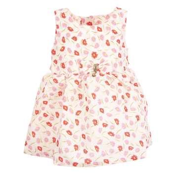 پیراهن دخترانه طرح گل کد 131