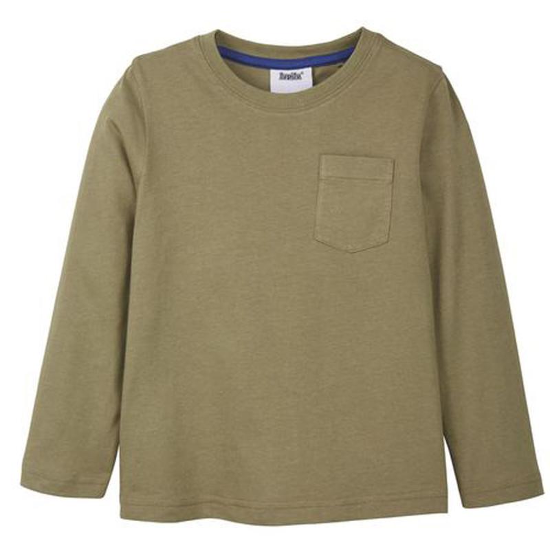 تی شرت آستین بلند پسرانه لوپیلو مدل SOR1 مجموعه 2 عددی