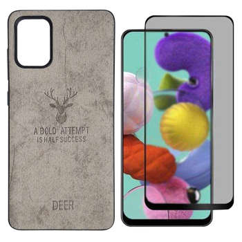 کاور اینفینیتی مدل INFDR1 مناسب برای گوشی موبایل سامسونگ GALAXY A51 به همراه 1 عدد محافظ صفحه نمایش حریم شخصی