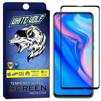 محافظ صفحه نمایش وایت ولف مدل WGF مناسب برای گوشی موبایل هوآوی Y9 Prime 2019