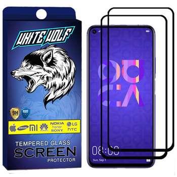 محافظ صفحه نمایش وایت ولف مدل WGF مناسب برای گوشی موبایل Nova 5T بسته 2 عددی