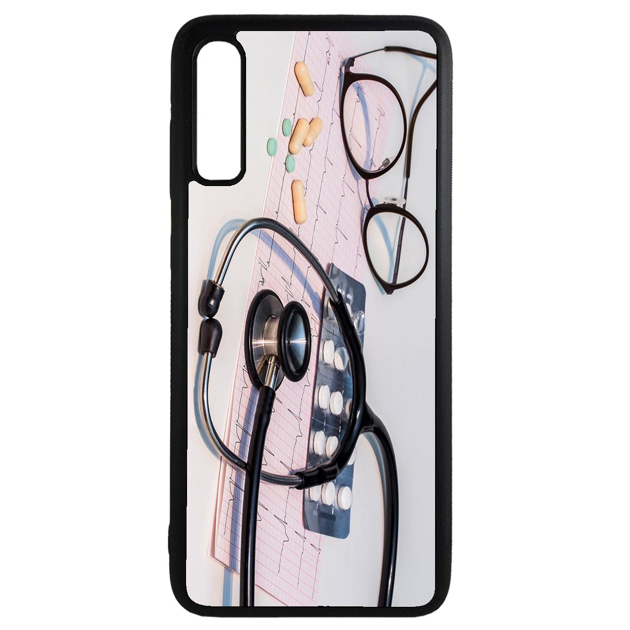 کاور طرح پزشکی کد 11050646 مناسب برای گوشی موبایل سامسونگ galaxy a30s