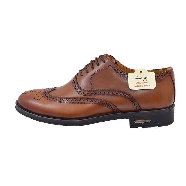 کفش مردانه چرمینه کد 319