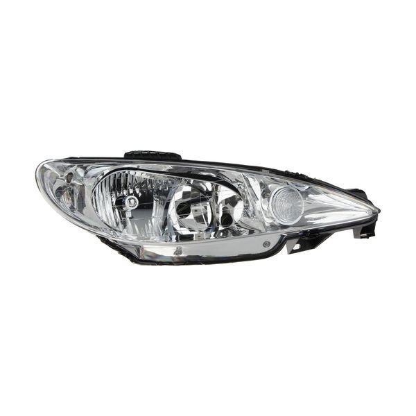 چراغ جلو راست کروز پلاس مدل CR50060401 مناسب برای پژو 206