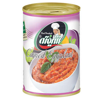 کنسرو خوراک بادمجان شیفته - 370 گرم