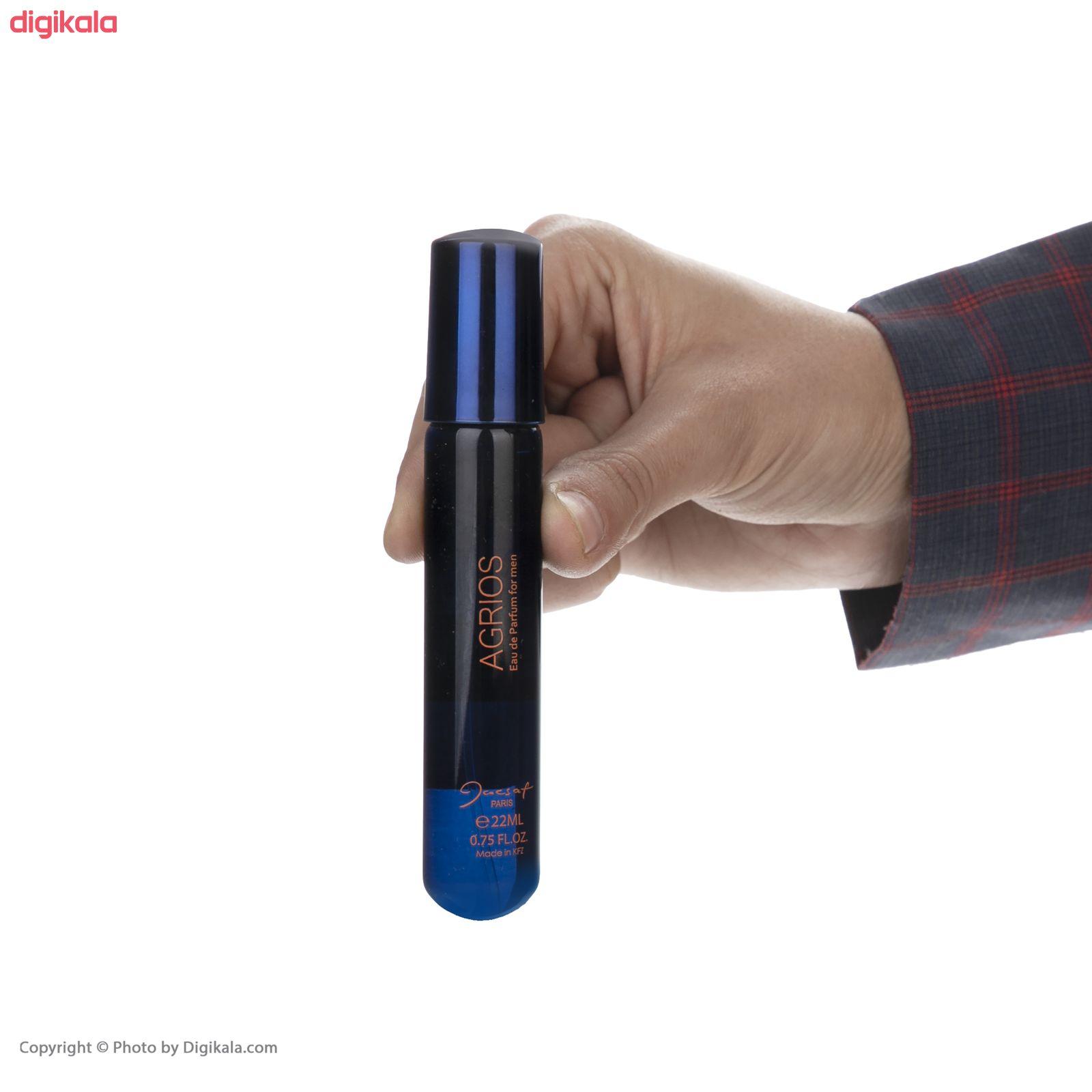 عطر جیبی مردانه ژک ساف مدل Agrios حجم 22 میلی لیتر  main 1 4
