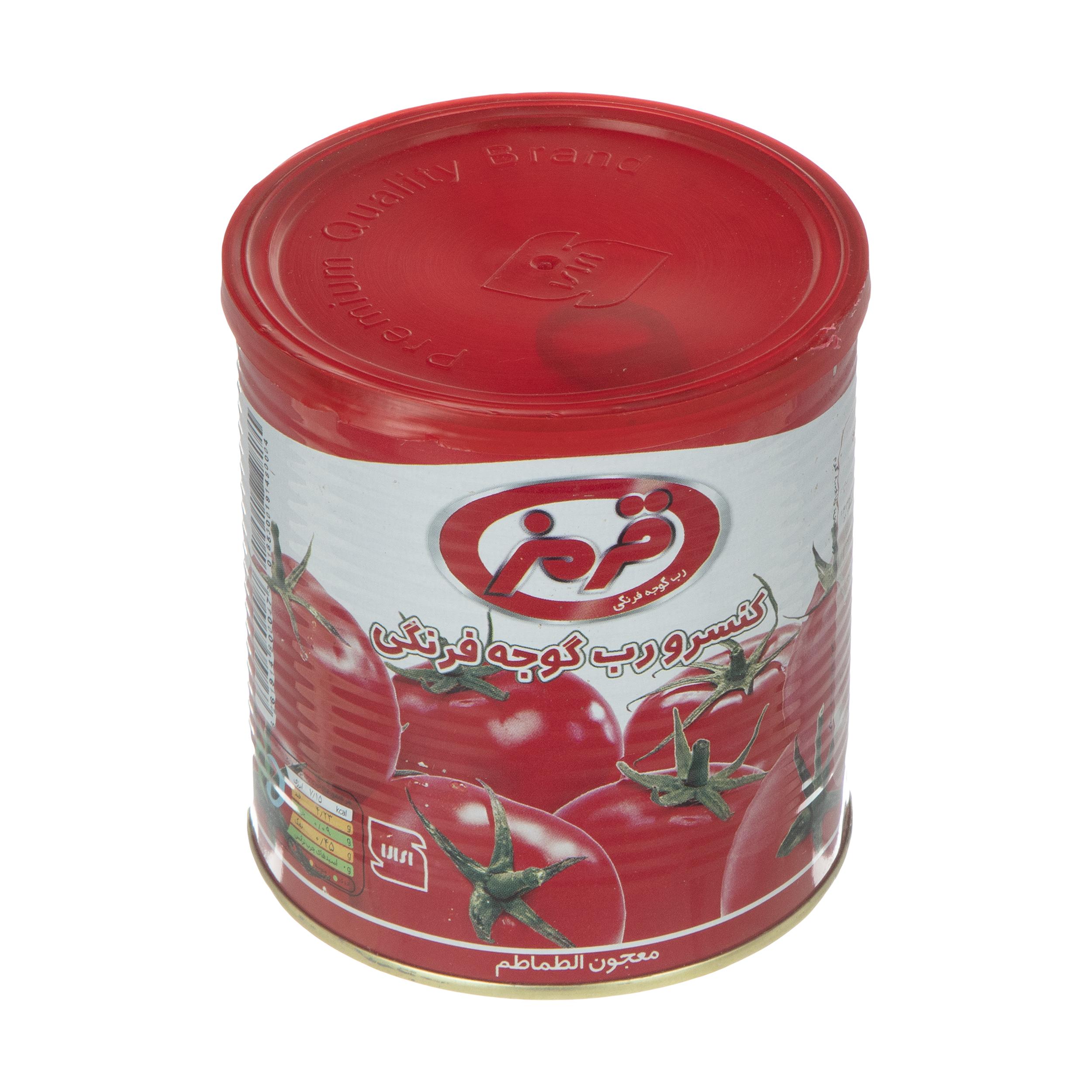 کنسرو رب گوجه فرنگی قرمز - 800 گرم