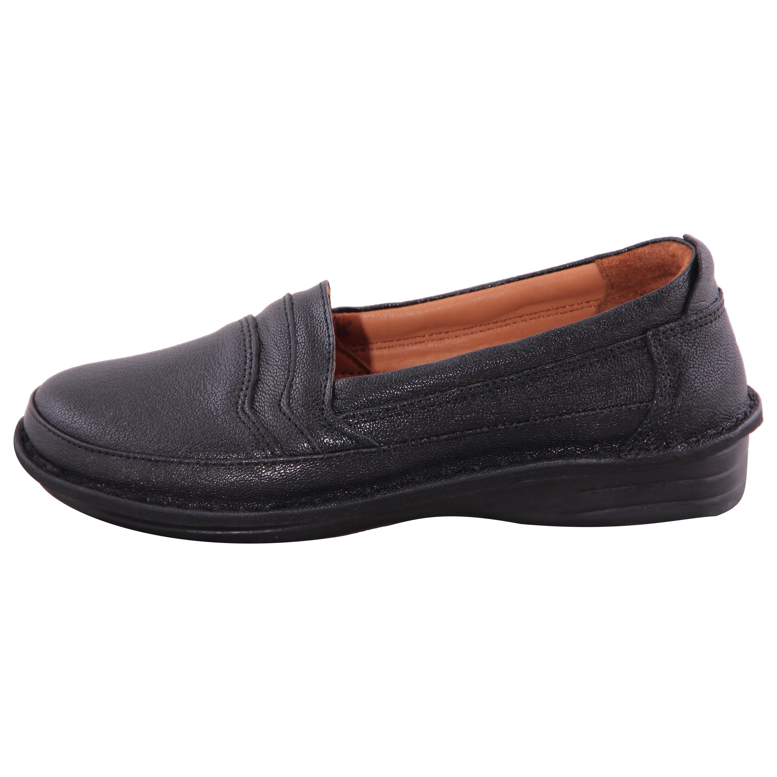 کفش روزمره زنانه شهر چرم مدل IR01014-1