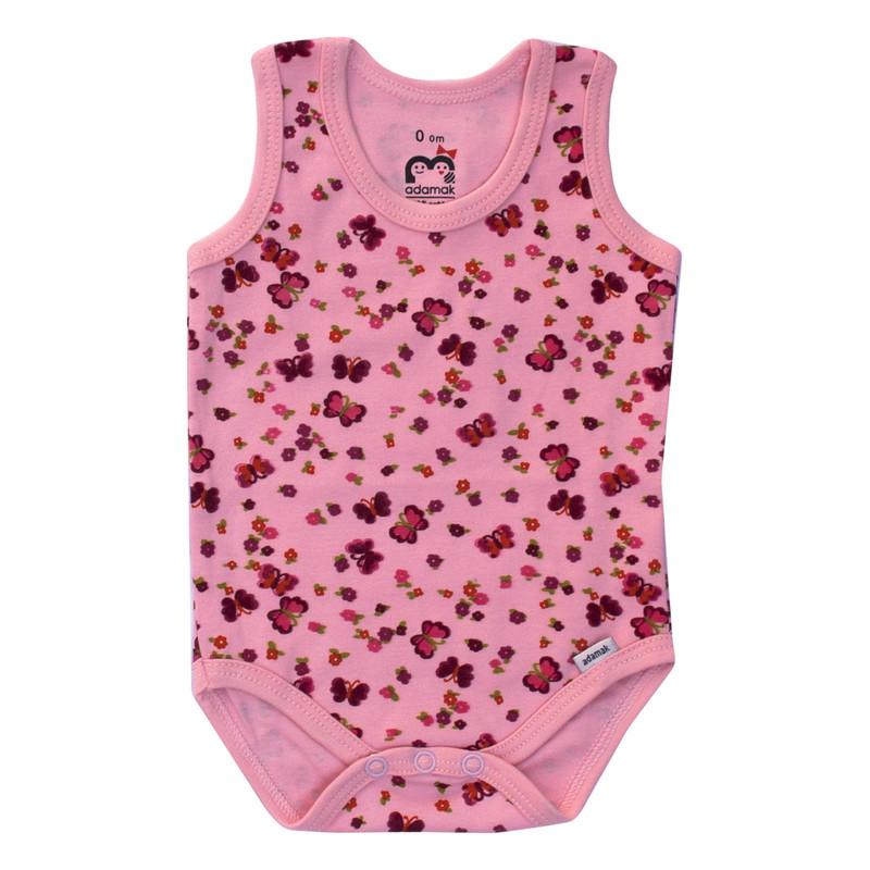 ست 6 تکه لباس نوزادی دخترانه آدمک طرح خرگوش و پروانه کد 02