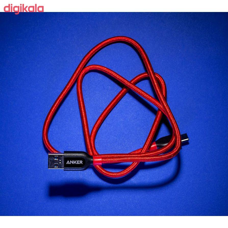 کابل تبدیل USB-C به USB انکر مدل A8168 PowerLine Plus طول 0.9 متر main 1 10