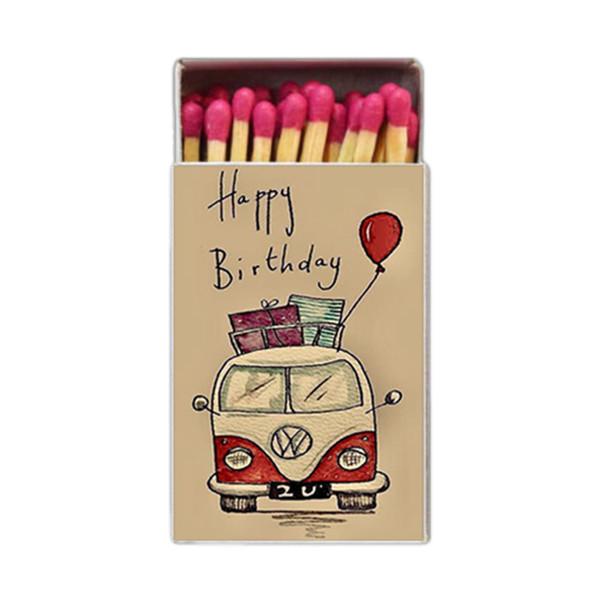 کبریت طرح Happy Birthday کد 735