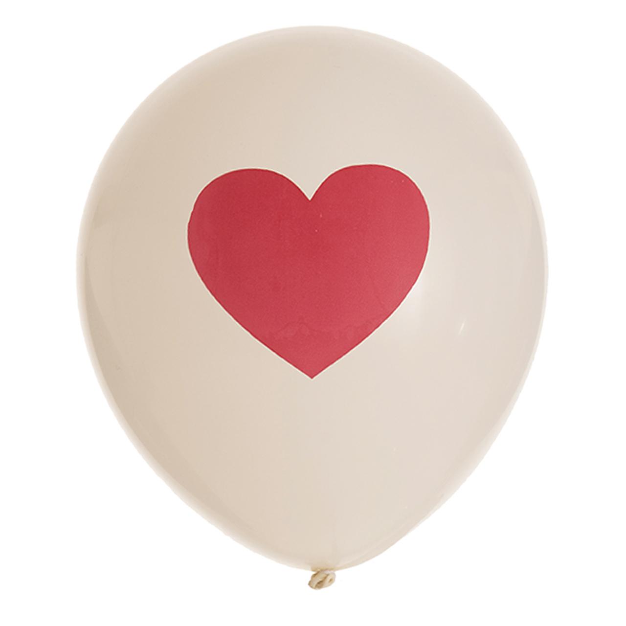 بادکنک طرح قلب کد m 488 بسته 12 عددی