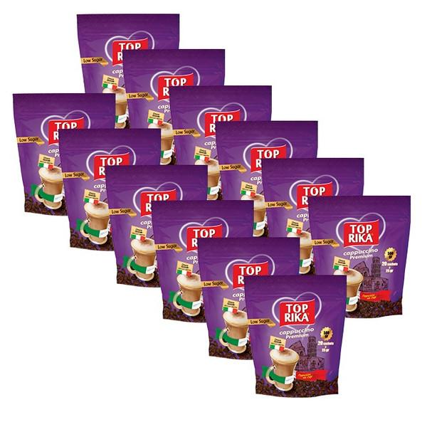 کاپوچینو کم شکر تاپریکا بسته ۱۲ عددی