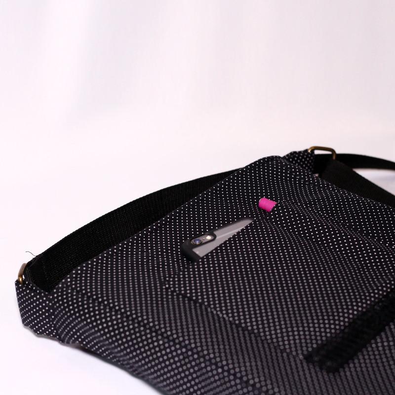 کیف دوشی دخترانه چی چاپ طرح Black Pink کد 65669