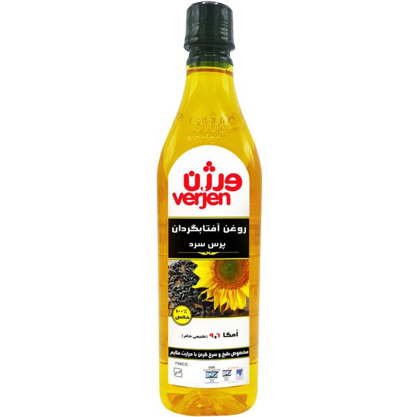 روغن فرابکر آفتابگردان ورژن - 0.75 لیتر