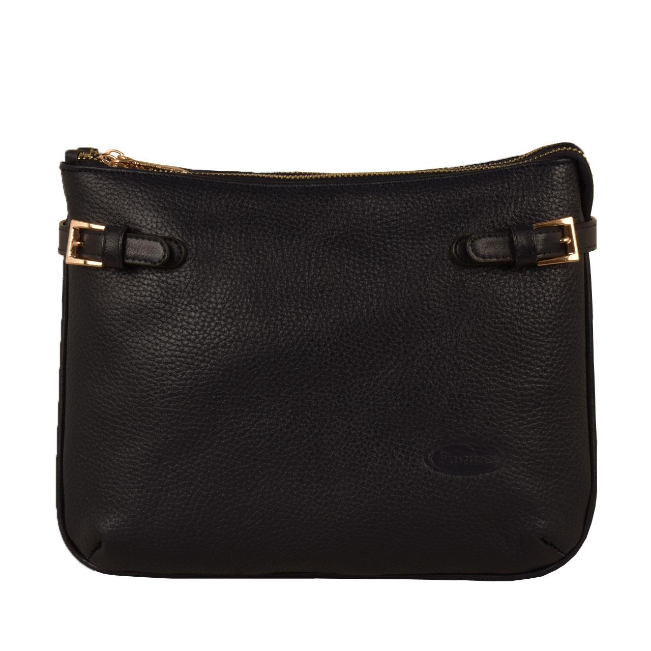 کیف دوشی زنانه پارینه چرم مدل PLV174-1568