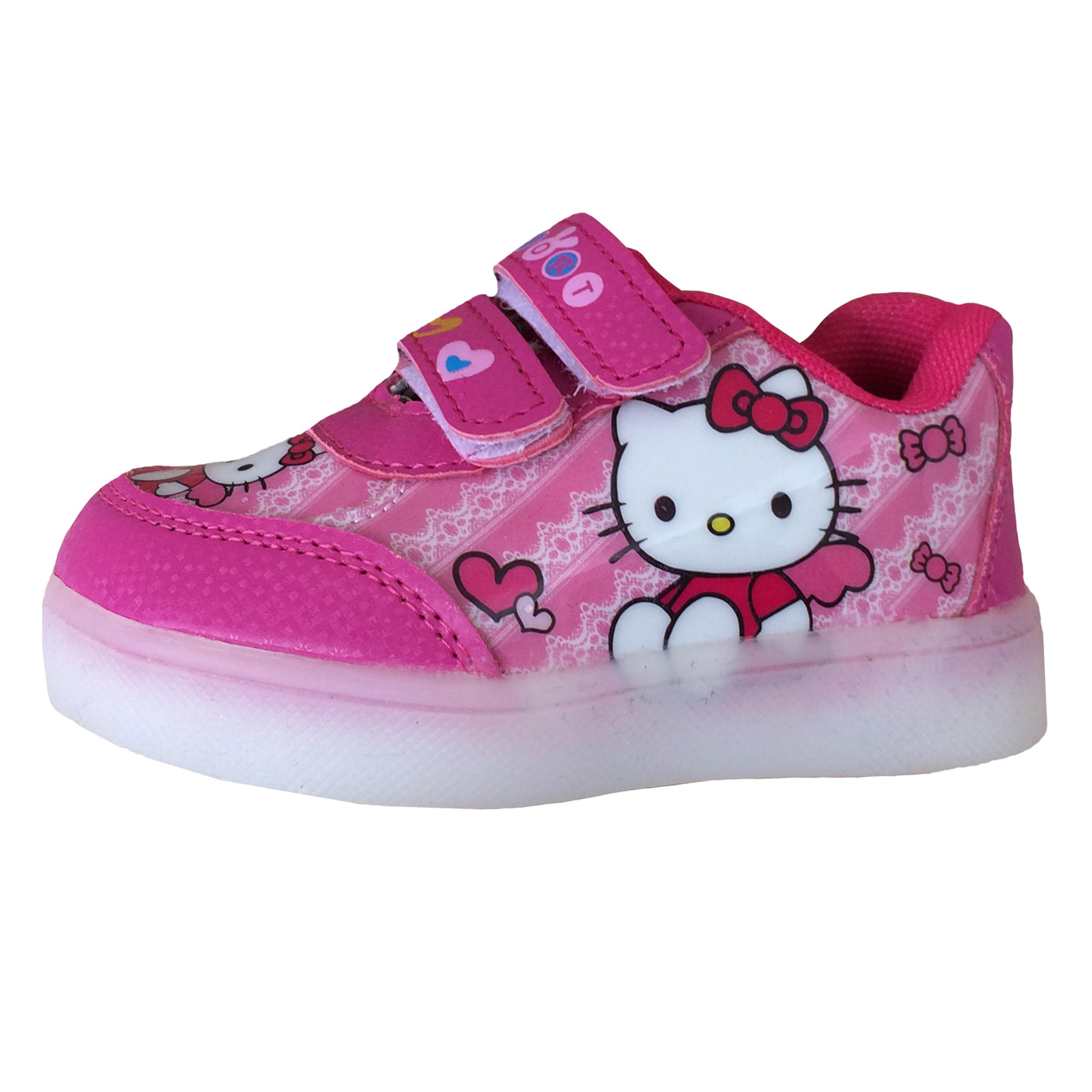کفش راحتی دخترانه طرح کیتی کد k30