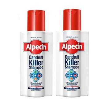 شامپو مو آلپسین مدل Dandruff Killer حجم 250 میلی لیتر مجموعه 2 عددی