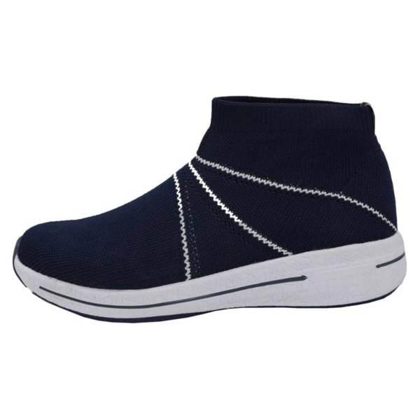 کفش مخصوص پیاده روی زنانه پرفکت استپس مدل ولونیو رنگ سرمه ای
