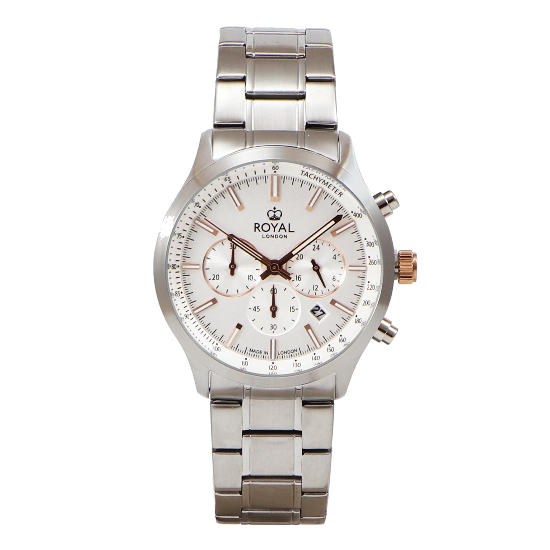 کد تخفیف                                      ساعت مچی عقربه ای مردانه رویال لندن مدل RL-41454-07