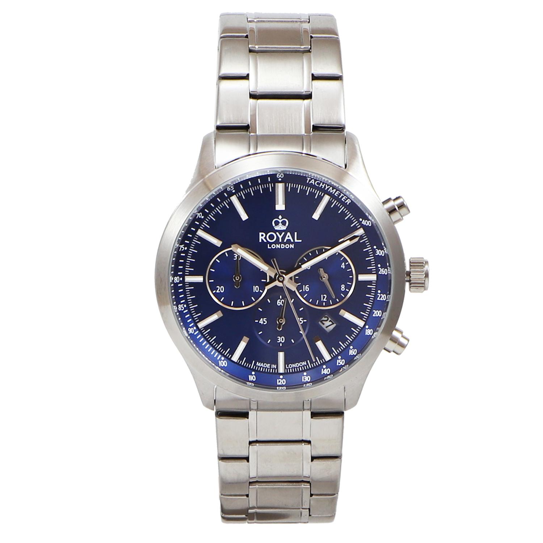 کد تخفیف                                      ساعت مچی عقربه ای مردانه رویال لندن مدل RL-41454-06