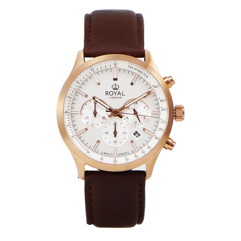 کد تخفیف                                      ساعت مچی عقربه ای مردانه رویال لندن مدل RL-41454-03