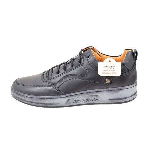 کفش روزمره مردانه چرمینه کد 343