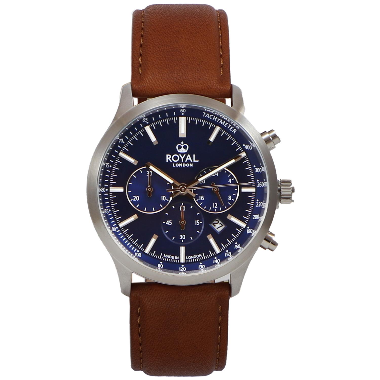 کد تخفیف                                      ساعت مچی عقربه ای مردانه رویال لندن مدل RL-41454-02