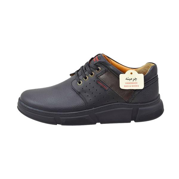 کفش روزمره مردانه چرمینه کد 340