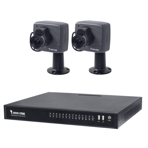 سیستم امنیتی ویوتک مدل ND8422P/IP8152F4x2 Solution Kit