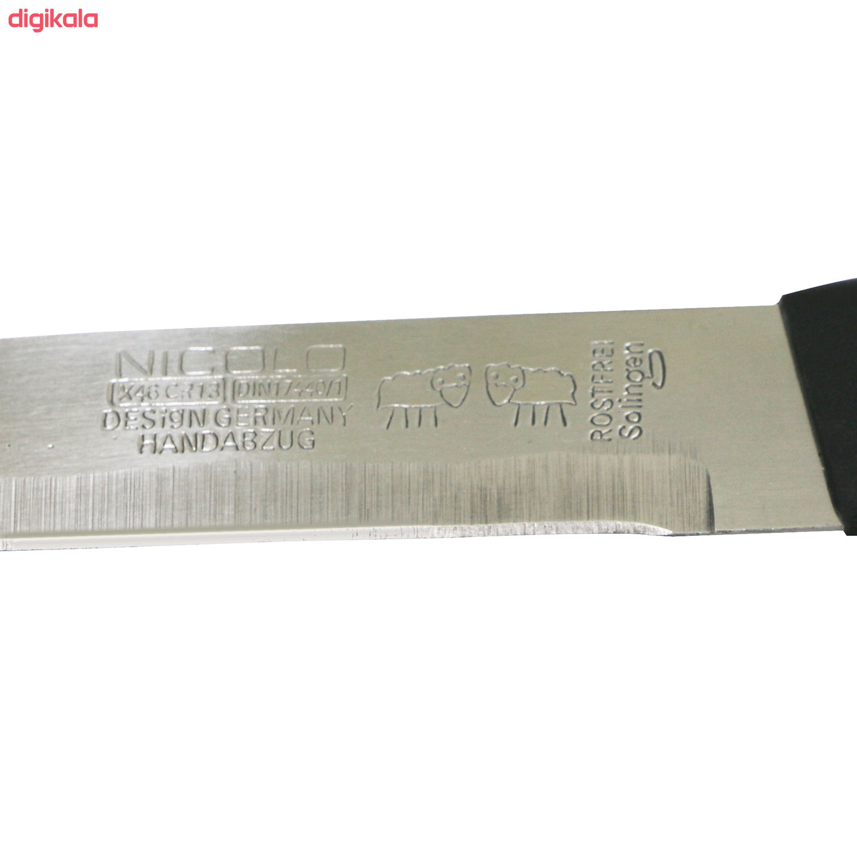 چاقو آشپزخانه نیکولو مدل AB12 main 1 8